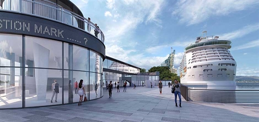 Greenock terminal to get new berthing facility and visitor centre