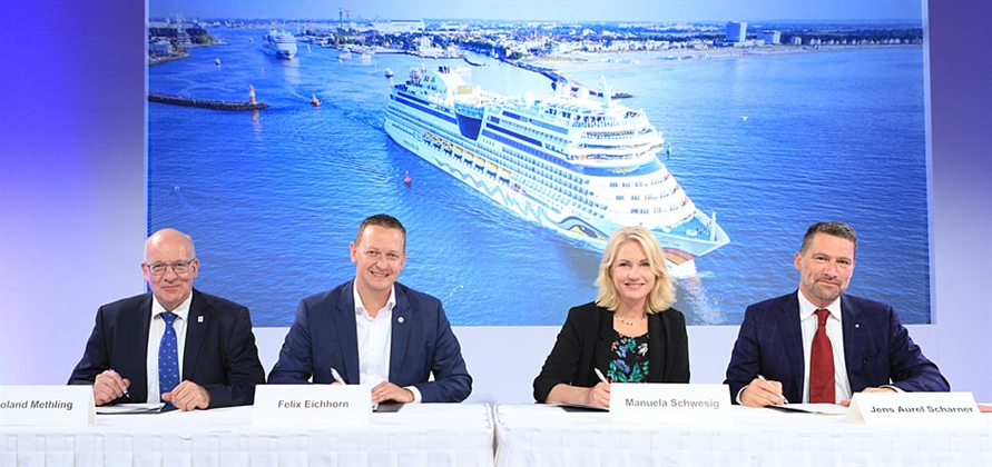 AIDA Cruises to help bring shore power to Rostock Port