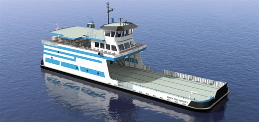 Miller Boat Line orders new ferry for Ohio's Lake Erie
