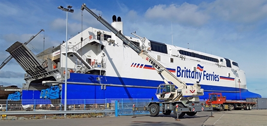 SMS refits Normandie Express for Brittany Ferries