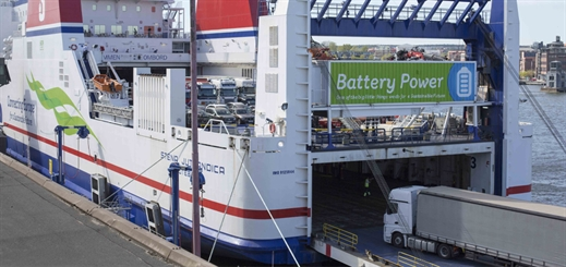 Stena Jutlandica completes first month as a diesel-electric ferry