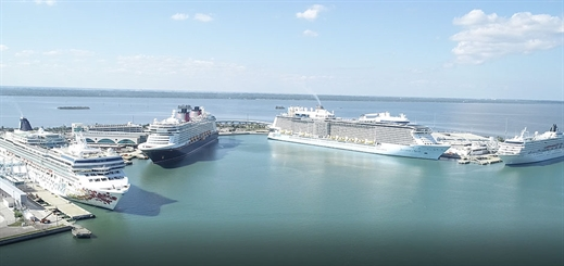 Passenger numbers reach all-time high at Port Canaveral