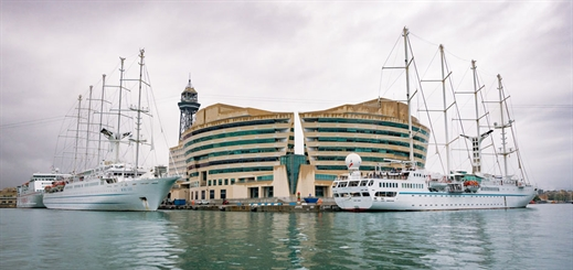 Port of Barcelona hosts three Windstar ships in one day