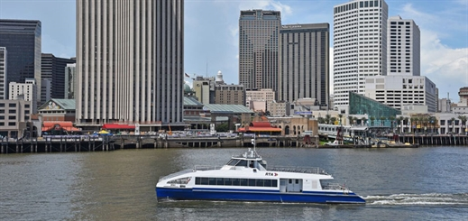 Metal Shark completes new ferries for New Orleans RTA
