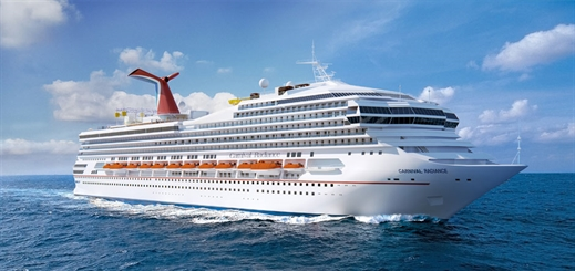 Carnival reveals inaugural voyages for Carnival Radiance