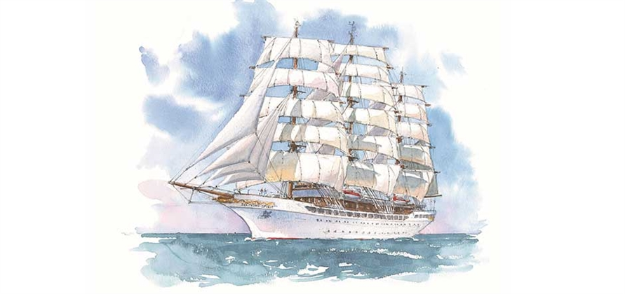 Sea Cloud Cruises to add third tall ship to its fleet in summer 2020