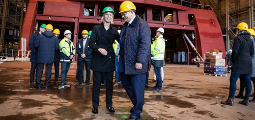 Ulstein Verft starts work on new Color Line ferry