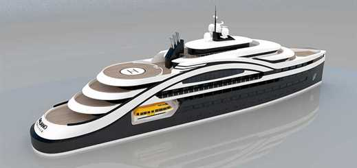 Sea Master Yachts designs first concept expedition cruise ship