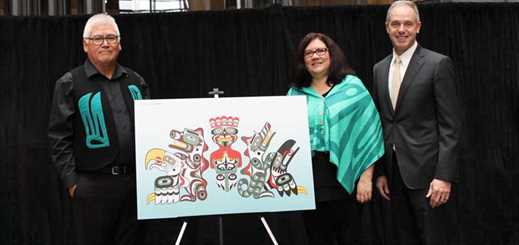 BC Ferries reveals indigenous artwork on Northern Sea Wolf