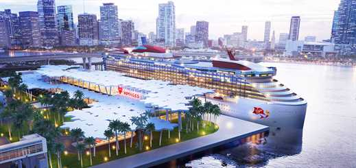 Virgin Voyages to build a dedicated cruise terminal at PortMiami
