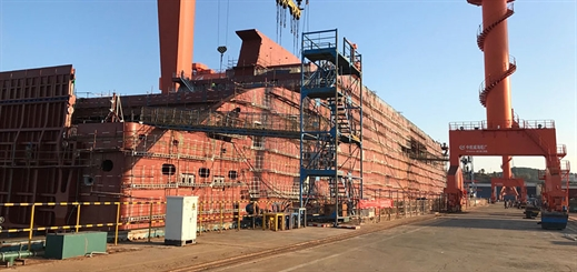 Stena Line's Irish Sea E-Flexer ships now under construction