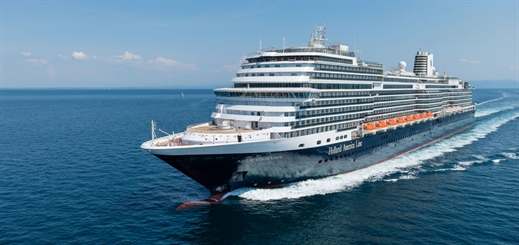 Holland America prepares Nieuw Statendam for her maiden cruise