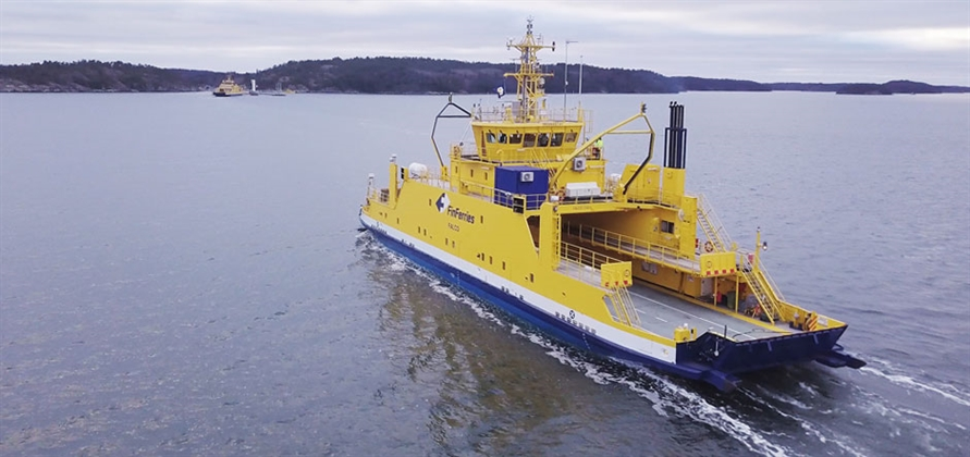 Rolls-Royce and Finferries demo world's first fully autonomous ferry