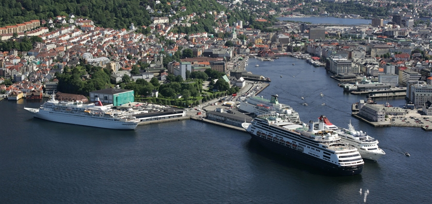Bergen secures funding for first shore power facility for cruise ships