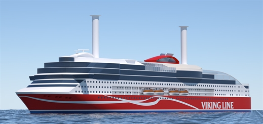 Almaco to build accommodation and more on Viking Line's new ship