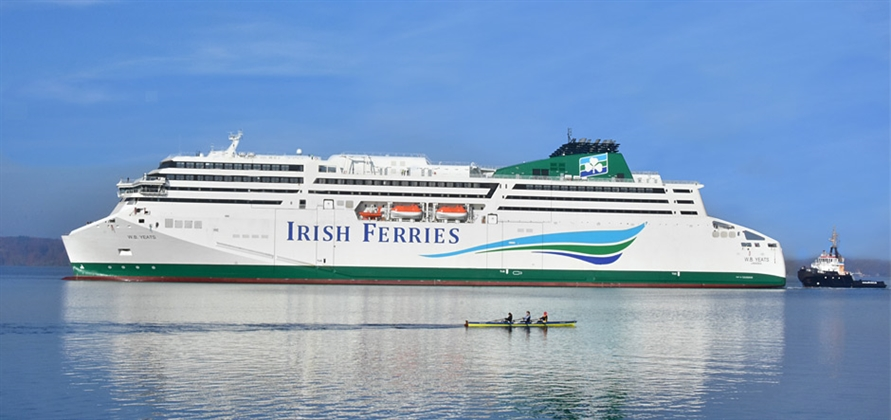 W.B. Yeats departs FSG shipyard for new Dublin homeport