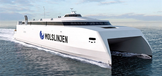 Why do aluminium ferries have to go fast?