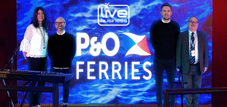 Live Business installs interactive LED screen on Pride of Bruges
