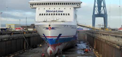 Harland and Wolff starts £5 million refit on five Stena Ferries