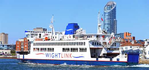 Wightlink will bid farewell to St Cecilia in January 2019