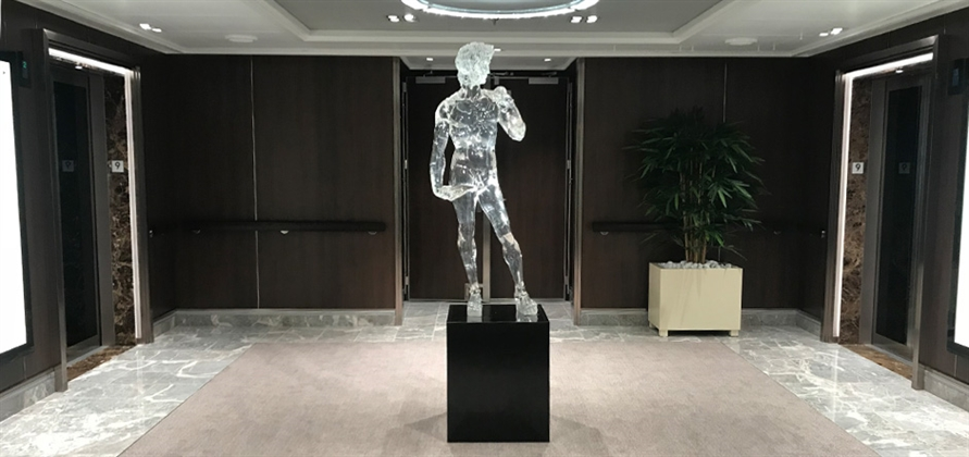 YSA Design transforms Nieuw Statendam into art gallery