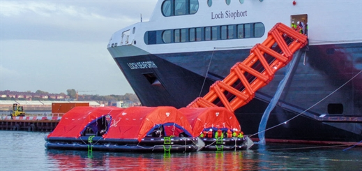 Survitec makes a leap forward in maritime safety