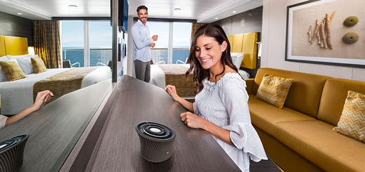 Who is MSC Cruises' new virtual personal cruise assistant?