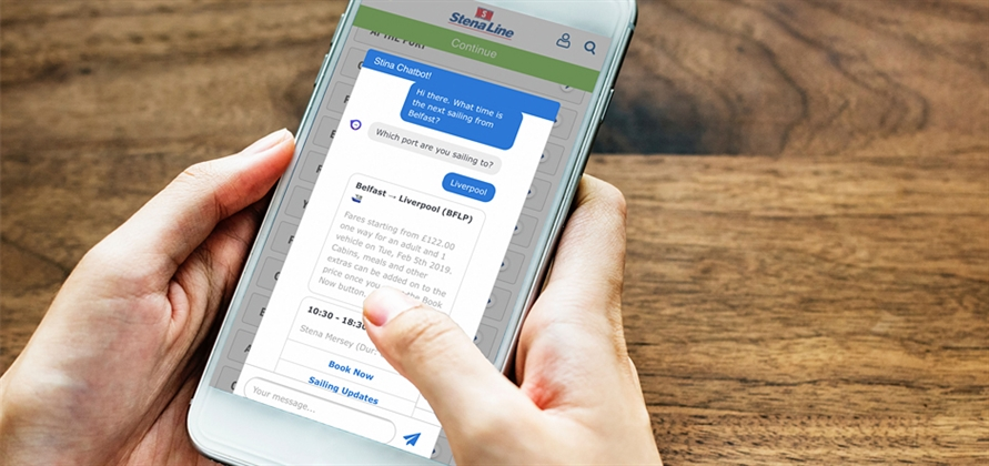 Stena Line launches new AI chatbot for UK market