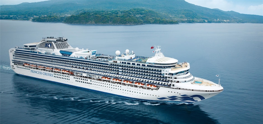 Diamond Princess undergoes multimillion-pound refit