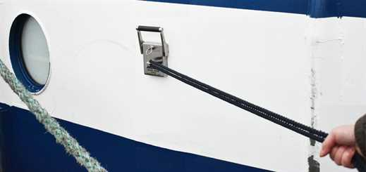 Silversea installs mooring magnets on Silver Cloud