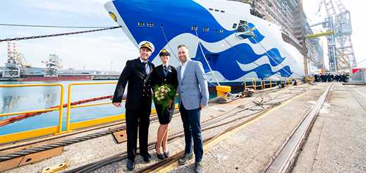 Princess Cruises celebrates milestones for Royal-class ships