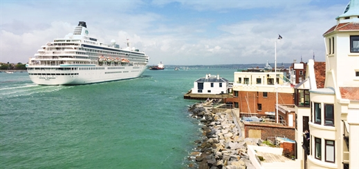 Portsmouth receives £18 million to transform cruise port