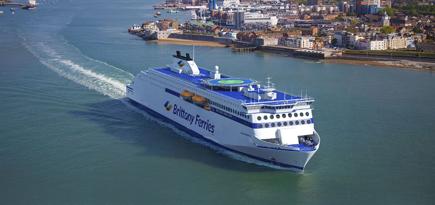 Repsol to provide LNG fuel for new Brittany Ferries vessel