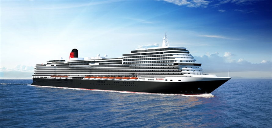 Cunard to use world-class interior designers on new ship