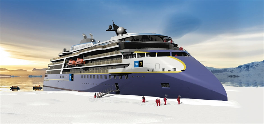 Ulstein Verft to build fourth Lindblad Expeditions polar vessel