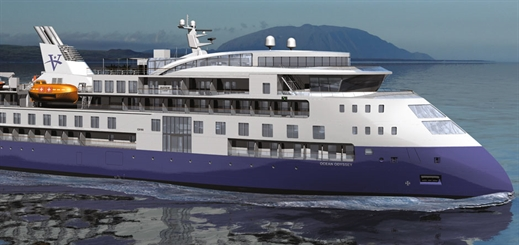 Vantage Cruise Line to launch first small sea-going ship