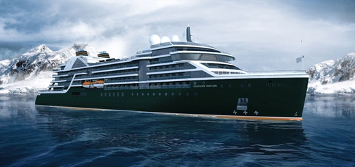 Seabourn names its first new luxury expedition ship