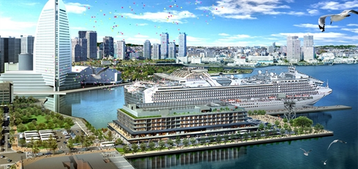 Yokohama to open two cruise piers in 2019