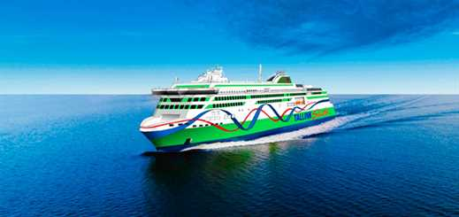 Rauma Marine to build new shuttle ferry for Tallink