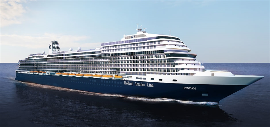 Holland America to call third Pinnacle Class ship Ryndam