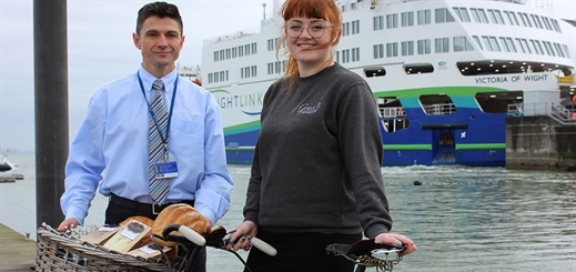 Wightlink forms partnership with Grace's Bakery