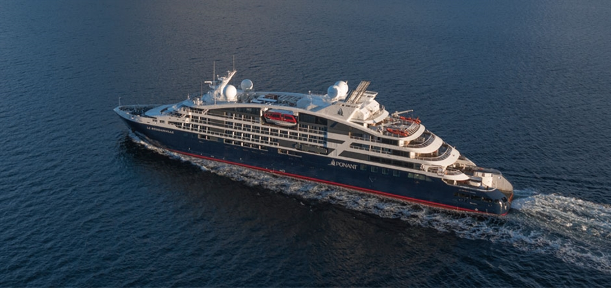 Ponant's newest Explorer ship prepares for maiden cruise