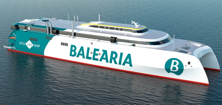 First-class ferry designs from Incat Crowther