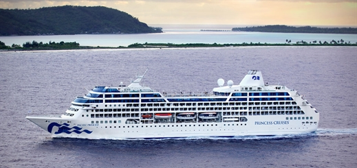 Princess Cruises to return to Tahiti in autumn 2020