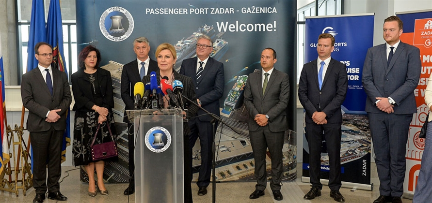 Zadar Cruise Port officially opens new passenger terminal