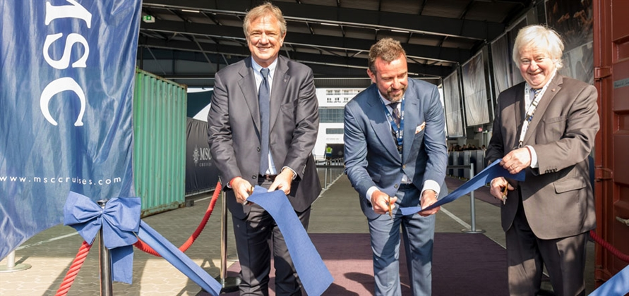 MSC Cruises inaugurates newly branded terminal in Kiel