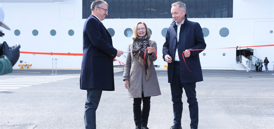 Port of Helsinki opens new cruise berth with help of MSC Cruises