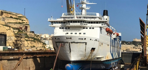 Palumbo Shipyards refits vessels for several operators