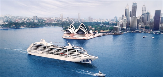 Ocean cruising is on the rise Down Under