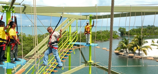 Ropes Courses Incorporated: taking entertainment from ship to shore
